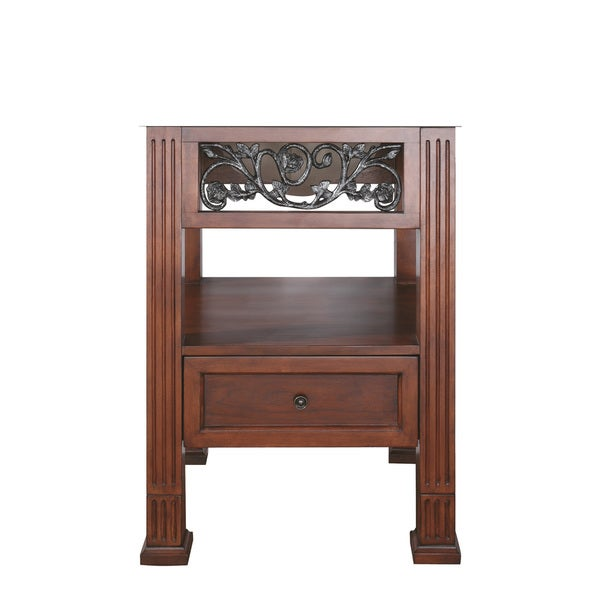 Avanity Napa 24-inch Dark Cherry Finish Vanity Only