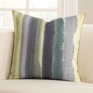 Savannah Watercolor Cotton Cover Polyester Fill Accent Pillow