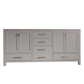 Avanity Modero Chilled Gray Finish 72-inch Double Vanity Only