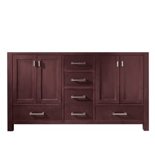 Avanity Modero 60-inch Espresso Finish Double Vanity Only