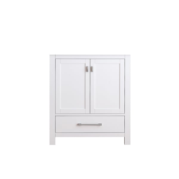 Avanity Modero 30-inch White Finish Vanity Only