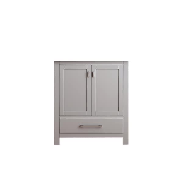 Avanity Modero Chilled Gray Finish 30-inch Vanity Only