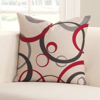 SIScovers Polyester Circlet Accent Pillow