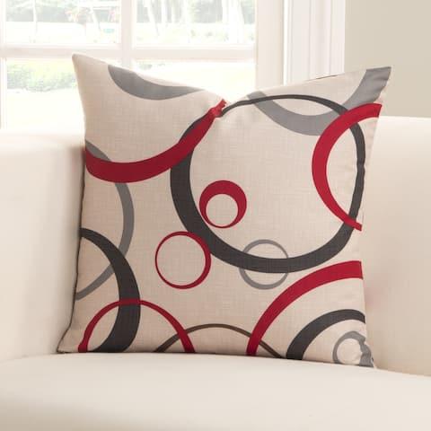 Siscovers Circlet Microfiber toss pillow