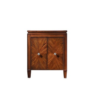 Avanity Brentwood 25-inch New Walnut Finish Vanity Only