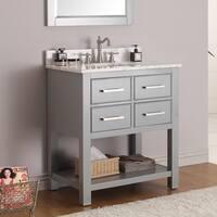 Avanity Brooks 30-inch Vanity in Chilled Gray Finish
