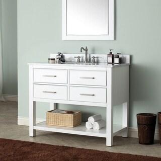 Avanity Brooks 42-inch White Finish Vanity