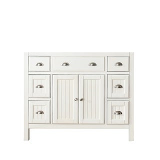 Avanity Hamilton 42-inch French White Finish Vanity
