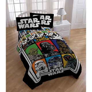 Star Wars Reversible Twin 5-piece Bed in a Bag with Sheet Set