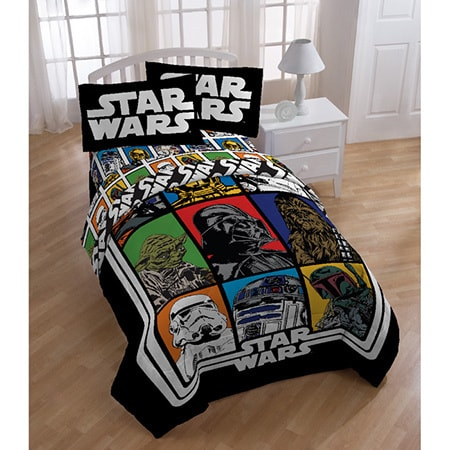 Shop Star Wars Reversible Twin 5 Piece Bed In A Bag Set