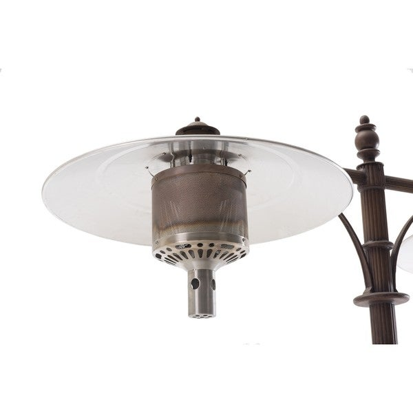 Sunjoy Forge Antique Bronze Aluminum/Steel Patio Heater   Free Shipping  Today   Overstock.com   19335751