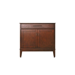 Avanity Madison 36-inch Tobacco Finish Vanity Only