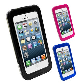 Crystal Clear IP68 Silicone Waterproof iPhone 5 5C 5S LCD Protector Case Cover
