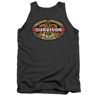 Survivor/Fiji Adult Tank in Charcoal