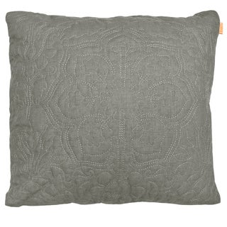 Anejo by Artistic Blue/Grey Polyester/Microfiber 20-inch x 20-inch Decorative Throw Pillow