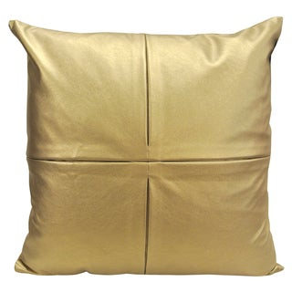 4-Sqaure by Artistic Linen Decorative Metallic Throw Pillow