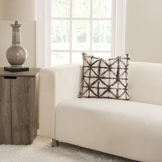 SIScovers Reflection Tan and Brown Polyester Accent Pillow