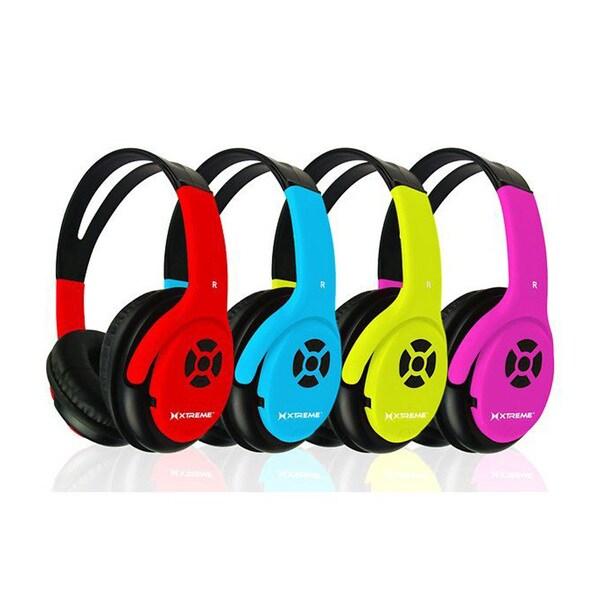 Shop Xtreme Talk N' Walk Bluetooth Headphones Mic And Controls