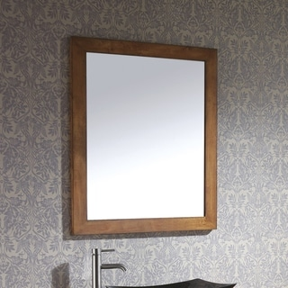 Avanity Legacy Brown Glass/Wood 36-inch Mirror