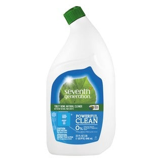 Seventh Gen. Emerald Cypress and Fir, 32 oz. Natural Toilet Bowl Cleaner (Pack of 8)