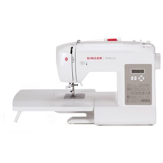 Singer 6180 Brilliance 80 Built-In Stitch Patterns Sewing Machine with Extension Table