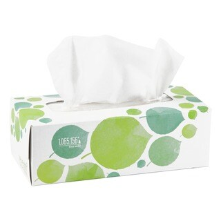 Seventh Gen. 100-percent Recycled 2-ply, 175 Sheet Facial Tissue (Case of 36)