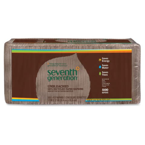 Seventh Gen. Recycled One-ply Paper Napkins