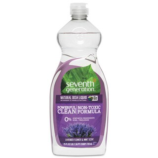Seventh Gen. Lavender and Mint 25 oz. Natural Dish Liquid (Pack of 12)