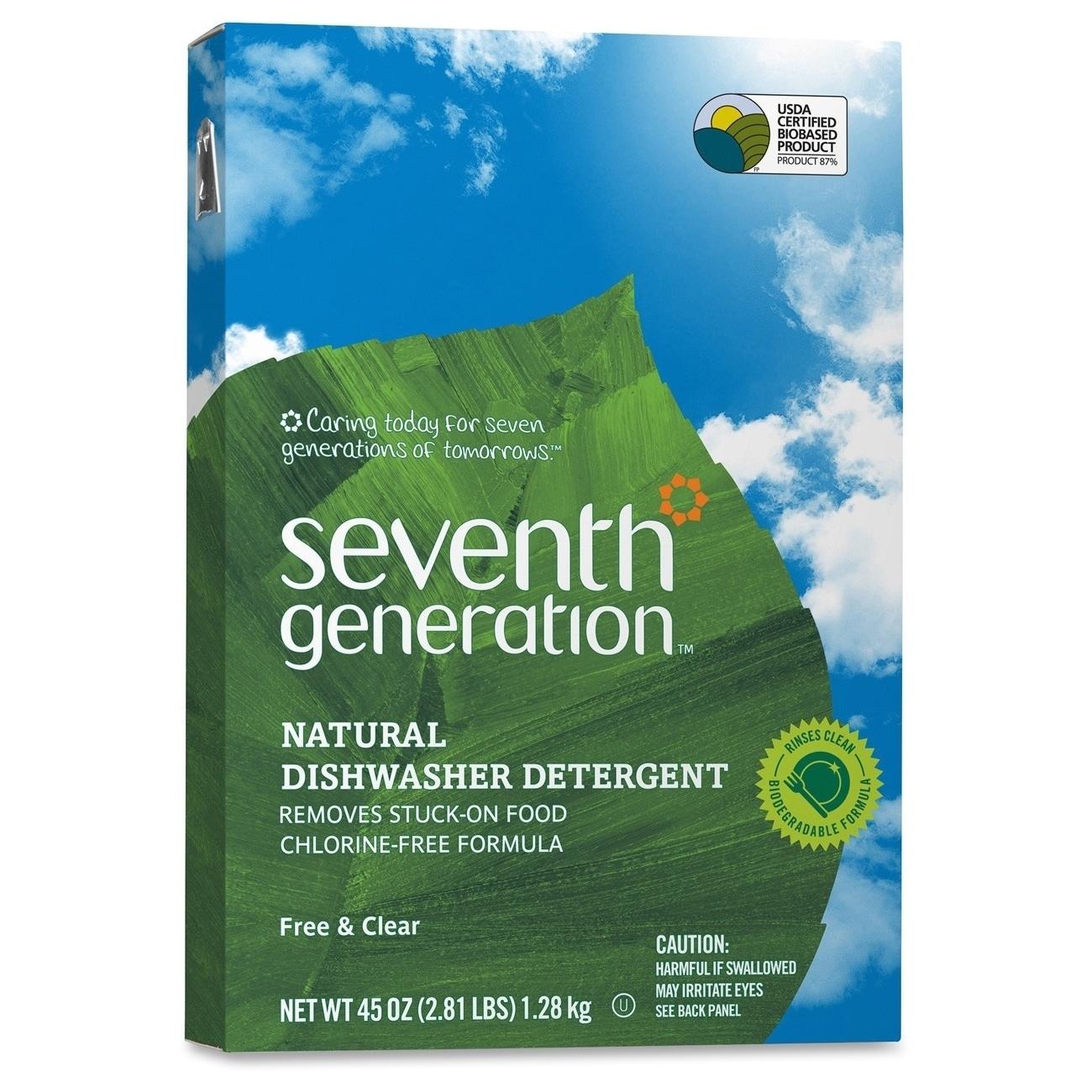 Seventh Generation Seventh Gen. Natural Dishwasher Deterg...