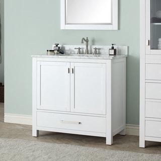 Avanity Modero White 36-inch Single Sink Vanity