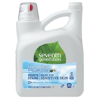 Seventh Gen. Free and Clear, 99 Load, Natural 2X Concentrate 150 oz. Liquid Laundry Detergent