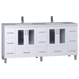 Westfield 72-inch Double Sink Vanity in White
