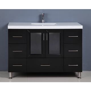 Westfield 48-inch Espresso Single Sink Vanity
