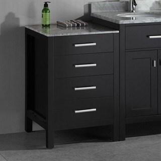 London 20-inch Espresso Bathroom Vanity Cabinet