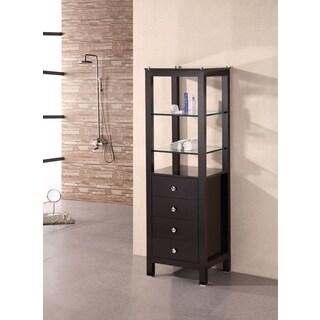 """Espresso 60"""" Linen cabinet"""