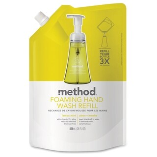 Method Products Lemon Mint Foam Hand Wash Refill