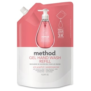 Method Products Pink Grapefrt Gel Hand Wash Refill