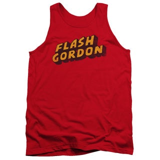 Flash Gordon/Logo Adult Tank in Red