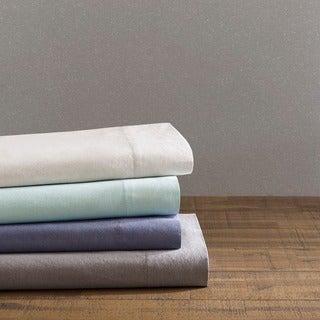 Urban Habitat Comfort Wash Cotton Solid Sheet Set 4-Color Option
