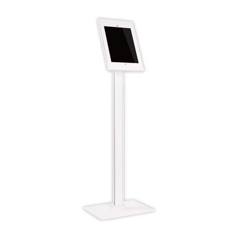 Pyle White 12.9-inch iPad Pro Anti-theft Standing Display Kiosk