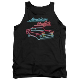 American Grafitti/Neon Adult Tank in Black