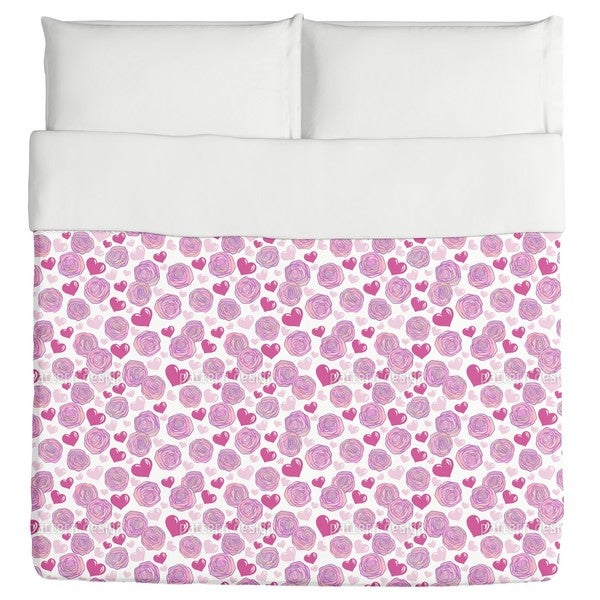Rose Passion Duvet Cover