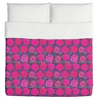 Feathers And Roses Duvet