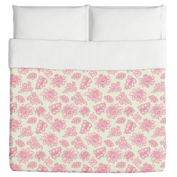 Baroque Bloom Pastel Duvet Cover