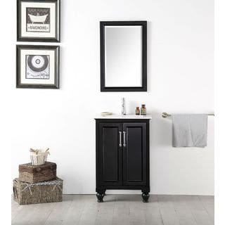 Legion Furniture 24 inch Espresso single sink vanity