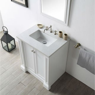 Legion Furniture Quartz-top 30-inch White Single Sink Vanity
