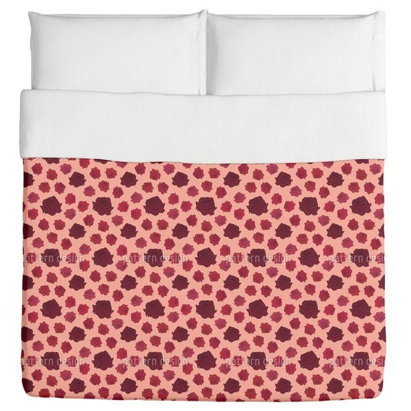 Sea of Roses Duvet Cover