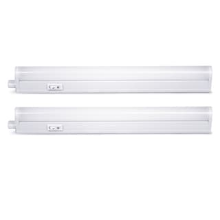 LED Concepts Under-cabinet Linkable T5 12-inch Warm White Light Bar (2 pack)