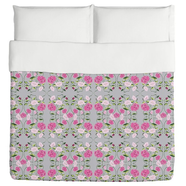 Snow-White And Rose-Red Duvet Cover