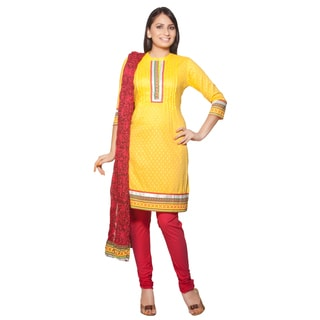 In-Sattva Women's Indian Embroidery 3-piece Ensemble (India)